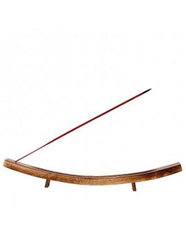 Wooden Canoe Incense holder