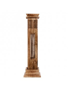 Wooden Column Incense holder