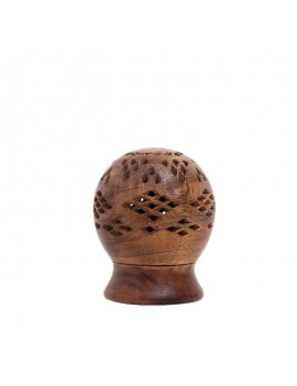 Wooden Ball Incense holder
