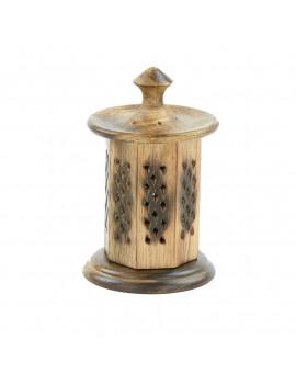 Wooden Belvedere Incense Holder
