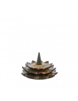 Wooden Thousand Flowers Incense Holder