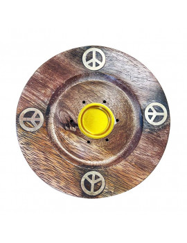 Bouddha Wooden Incense holders