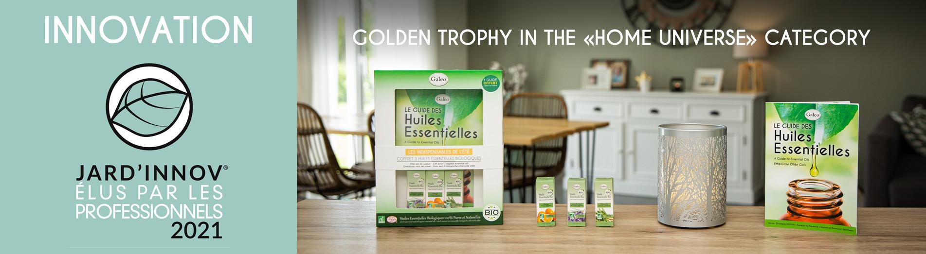 Golden trophy Jard'innov